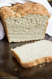 English Muffin Bread takes an amazing recipe for English Muffins and turns it into one of the best gluten free loaves of bread you'll ever try.