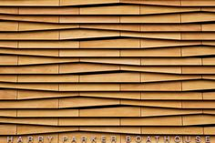 Wood Wall Facade Design
