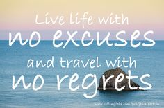 Live life with no excuses and travel with no regrets. www.rollinglobe.com/pro/jenniferkon