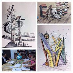 """#iqdesigh #iq_design_school 10-11 лет программа """"Мир современного искусства"""""""