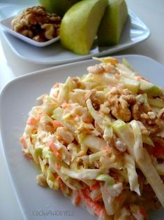Cocina – Recetas y Consejos Salad Recipes, Diet Recipes, Cooking Recipes, Healthy Recipes, Food Porn, Coleslaw, Appetizer Salads, Savoury Dishes, Original Recipe