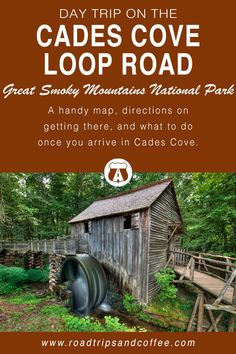 Cades Cove is one of the most-visited destinations in the Great Smoky Mountains National Park. This day trip guide on the Cades Cove Loop Road will show you how to get there, what to do once you're there, and a handy map to point everything out. Gatlinburg Tennessee, Tennessee Vacation, East Tennessee, Townsend Tennessee, Tennessee Attractions, Smoky Mountain National Park, Great Smoky National Park, Cades Cove, Great Smoky Mountains