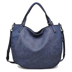 Urban Expressions Claudine Hobo Handbag (Navy) Urban Expr…