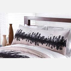 City Skyline Pillowcase.