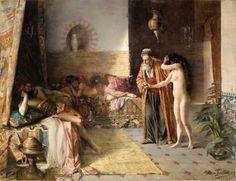 Namouna (1887), Adrien Henri Tanoux - #Art #LoveArt https://wp.me/p6qjkV-4wU