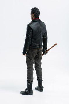 ThreeZero The Walking Dead TWD Michonne Grey Pants /& Belt loose 1//6th scale