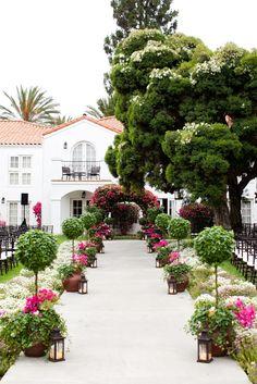 Gorgeous setting at La Costa Resort - lacosta.com Photography: John & Joseph Photography - www.jkhphoto.com  Read More: http://www.stylemepretty.com/california-weddings/2014/05/23/romantic-carlsbad-wedding/