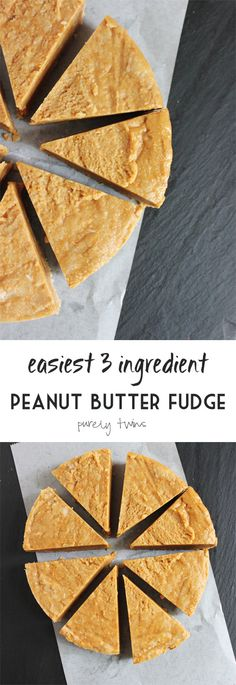 This 3-Ingredient Peanut Butter Fudge Is All We Want Today
