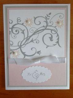 Stampin Up Handmade Greeting Card Wedding Anniversary Bridal Shower | eBay