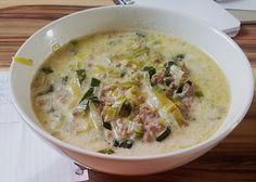 Käse - Lauch - Suppe mit Hackfleisch (Rezept mit Bild)   Chefkoch.de