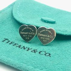 Cute Jewelry, Jewelry Box, Jewelry Accessories, Jewelry Design, Dainty Jewelry, Heart Jewelry, Luxury Jewelry, Tiffany And Co Earrings, Tiffany And Co Jewelry