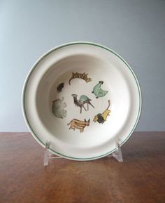 Vintage Arabia Finland Parade Bowl by luola on Etsy I had this bowl growing up.