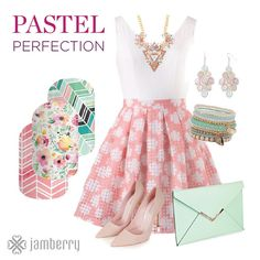 Jamberry nail wraps are the PERFECT accessory for any outfit!  www.alohajam.jamberrynails.net