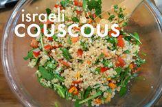 Israeli Couscous (2) - racheerachh eats