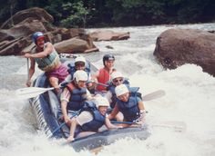White water rafting on the Ocoee in TN