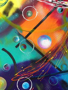 """""""Californium 2"""" tableau abstrait"""