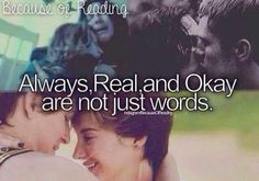 Not just words... The Fault in Our Stars, Harry Potter and the Hunger Games