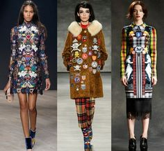 Fashion Week Breaking Trends Fall 2014: Patches, Emblems - Accessories Magazine. Time to dig out those old Girl Scout badges!