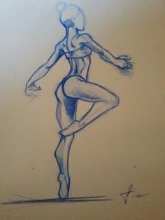 Sketch female body
