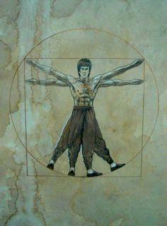 Da Bruce Vinci Lee by tonio48 on deviantART