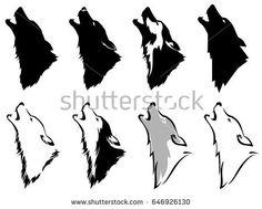 """Képtalálat a következőre: """"wolf silhouette"""""""
