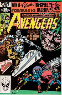 Avengers 215 January 1982 Issue Marvel Comics by ViewObscura