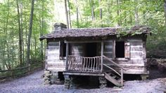 Carter cabin at Natural Tunnel State Park