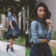 Stephanie Liu - Le Lis Sweater, Le Lis Skirt - Le Lis