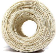 Fair Trade White Hemp Yarn Premium by ThoughtfulGemsCrafts on Etsy, $7.90