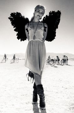 Angel (Burning Man). Enjoy RushWorld boards,  HOT 4 U BURNING MAN FESTIVAL,  UNREASONABLE WOMEN HAUTE COUTURE,  WTF FASHIONS  AND SPELLBINDING ART INSTALLATIONS.  See you at RushWorld!  New content daily.