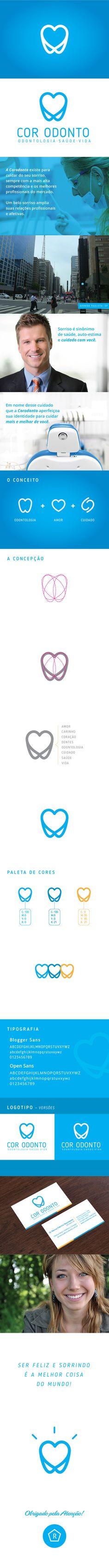 Cor Odonto - Odontologia Saúde e Vida on Behance