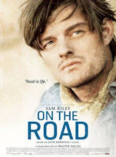 On The Road Movie Poster - Sal. Check out Pete & Brigette's review here: http://chaptersandscenes.wordpress.com/2014/01/24/pete-and-brigette-review-on-the-road/