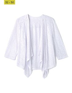 From the classic biker and denim, to more formal, office - suited styles and lighter cardis and covers - you'll find what you're looking for right here! Bell Sleeves, Bell Sleeve Top, Damask, Cover Up, Tunic Tops, Suits, Denim, Formal, Jackets