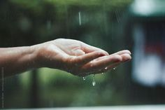 Jovana Rikalo for Stocksy United Rain Photography, Winter Photography, The Kings Of Summer, Vietnam War Photos, Princess And The Pea, Hand Art, Its A Wonderful Life, Rain Drops, Dream Life