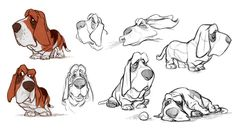 ideas for dogs drawing cartoon animation Character Design Challenge, Character Design Cartoon, Character Sketches, Character Design References, Character Development, Cartoon Sketches, Animal Sketches, Animal Drawings, Art Sketches