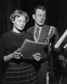 Ingrid Bergman and Joseph Cotton. photo