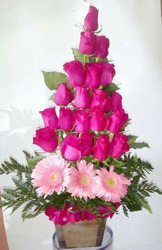 Rosas y gerberas Pedidos al 1703320 local Cel 656 2779106 Www.facebook.com/floreriaaned
