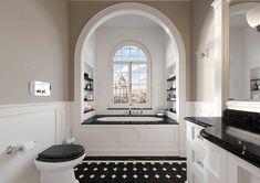 Le style Art déco apporte classe et originalité à la salle de bains. Découvrez nos 5 conseils pour adopter le style Art Déco dans votre salle de bains. Devon Devon, Bloomfield Hills, Arno, Cottage Style, Tuscany, New Homes, Projects, Bespoke, Interiors