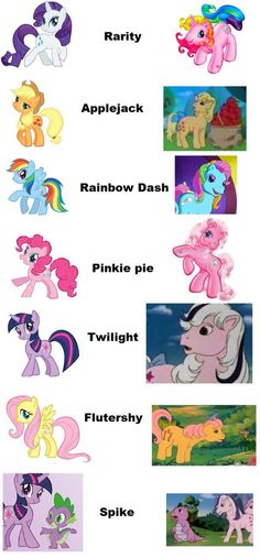 "My Little Pony ""Past/Present"""
