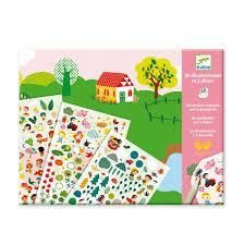 These Djeco rub-on transfers will be an instant hit with children. This is a genuine item manufactured by DJECO . Includes: 3 countryside-style backgrounds mm), 2 sheets of decals transfers). Arty Toys, Kit S, Love Illustration, Baby Kind, 5 Year Olds, Creative Kids, Zoo Animals, Jouer, Shopping