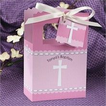 blue cross favor boxes for baptism favors for boys at