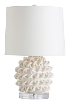 """Jamienne 23"""" H Table Lamp with Empire Shade"""