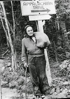 In 1955, at the age of 67, Emma Rowena Gatewood became the first woman to hike the entire 2,168 mile (3,489 km) Appalachian Trail. A mother of 11 and grandmother of 23, #GrandmaGatewood is now considered a pioneer of ultra-light hiking. She even hiked the entire trail again in 1960...and then AGAIN at the age of 75 -- making her the 1st person to hike the Appalachian Trail 3 times.    Whenever you doubt your abilities, remember the story of Emma Rowena Gatewood.  Then get up...and GET…