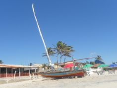 Jangada Cearense Praia de Uruau Beberibe Ceará Brasil