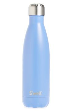 S'well 'Satin Collection - Monaco' Stainless Steel Water Bottle available at Swell Water Bottle, Drinking Water Bottle, Cute Water Bottles, Drink Bottles, Water Flask, Cute Cups, Vsco, Stainless Steel Water Bottle, Monaco