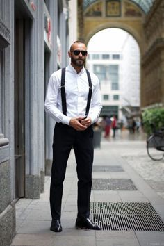 A man with style