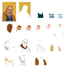 holy icon color separartion for serigraphy