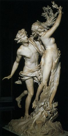 Daphne and Apollo, Bernini. Borghese Gallery One of my FAVORITE sculptures and…
