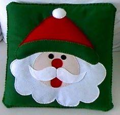 Artesanato de natal em feltro: 52 ideias com moldes para decorar