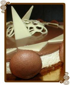 Journal des Femmes : Bavarois au mascarpone vanillé et chocolat sur biscuit coco